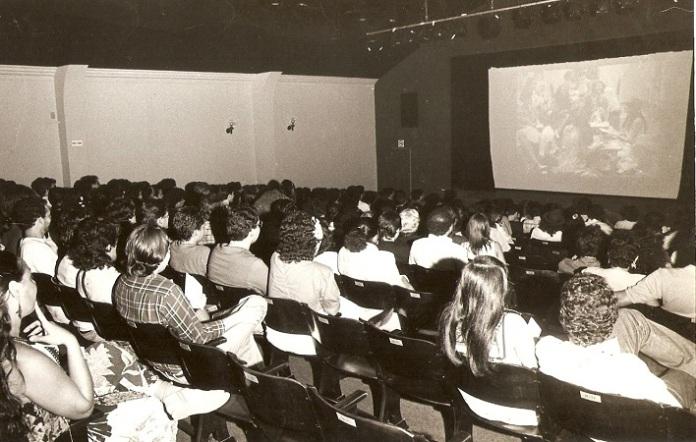 Cinema da Fundação antes da reforma